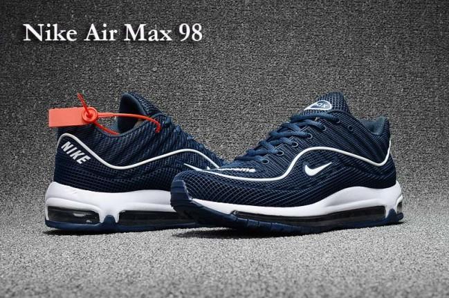 air max 98 homme bleu
