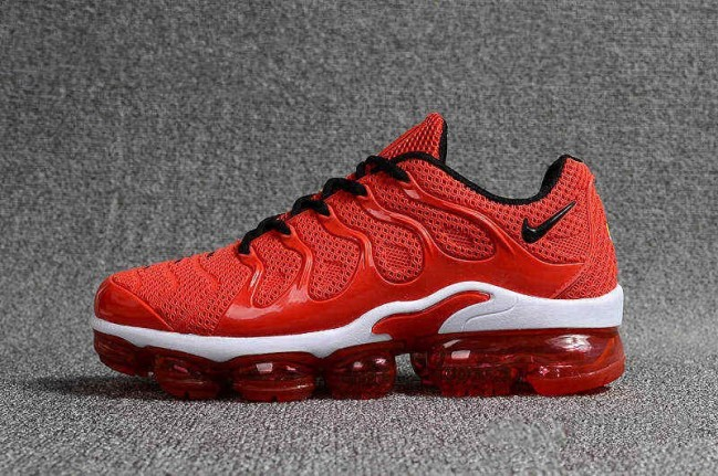 nike air vapormax blanche rouge