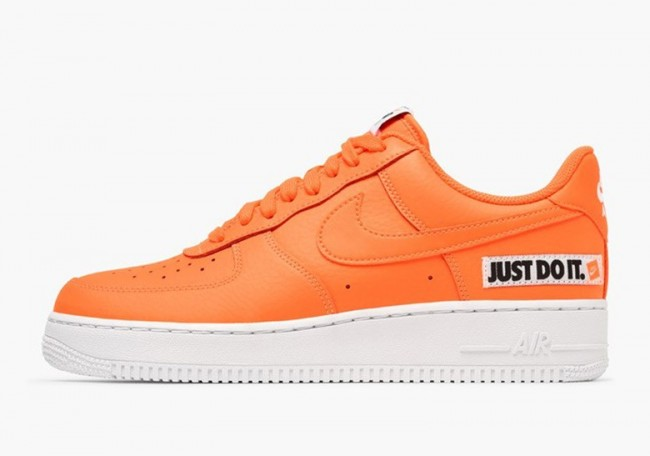 nike air force 1 homme blanche orange