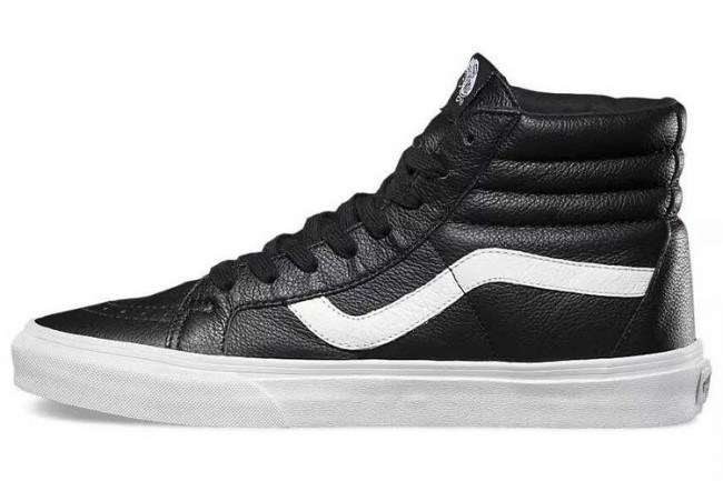Boutique Chaussures Homme/Femme Vans Sk8-Hi Reissue Leather ...