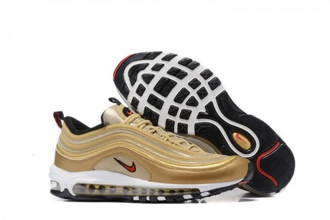 on sale 433df e2853 Homme Nike Air Max 97 Or Jaune En ligne