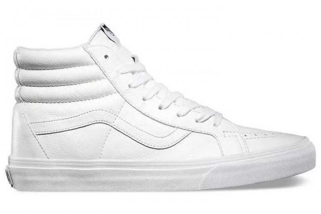 chaussure homme vans blanche