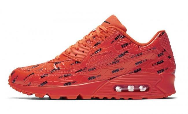 air max 90 homme orange