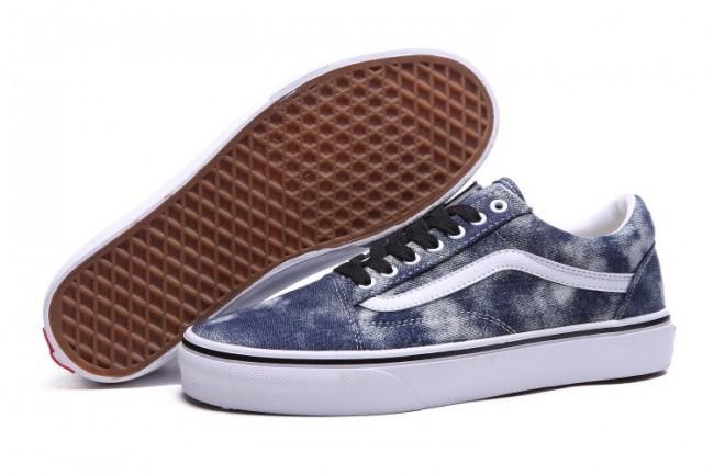 Acheter Chaussures Vans Old Skool Canvas Woody/Denim Homme ...