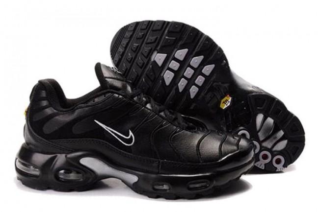 Acheter Homme Nike Air Max TN Chaussures Noir/Grise Pas Cher ...