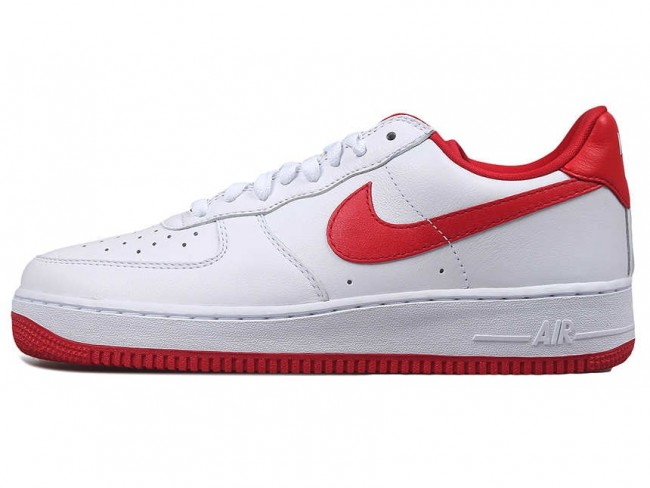 nike air force 1 blanche et rouge homme