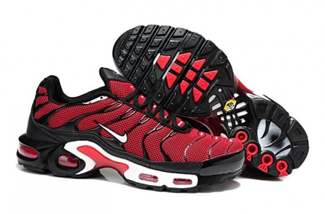 super popular 24b9e e93d2 Boutique Chaussures Nike Air Max TN Plus Homme Rouge Noir