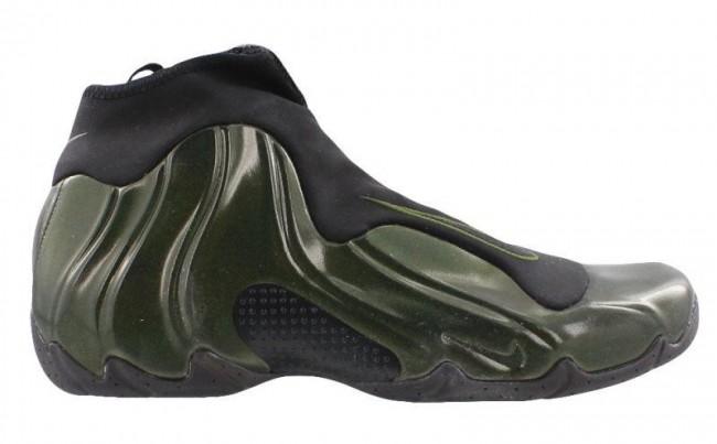 low priced lower price with super specials Acheter Homme Nike Air Flightposite Legion Verte Noir Pas Cher