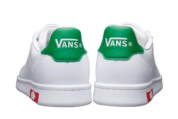 Boutique Chaussures Smith x Vans Old Skool Blanche/Verte ...