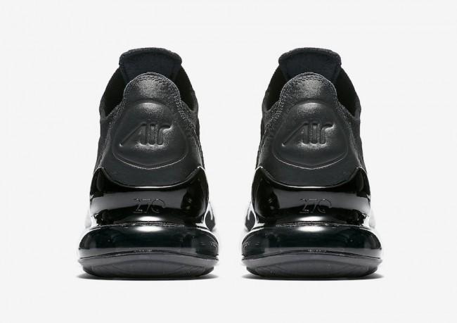 reliable quality famous brand meet Homme Nike Air Max 270 Flyknit Blanche Noir En ligne Pas Cher