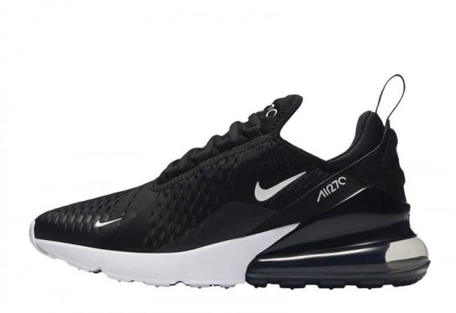2018 sneakers free shipping half price Nike Air Max 270 Noir Blanche Femme En ligne Pas Cher