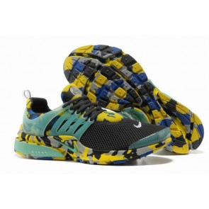 Chaussures Nike Air Presto Homme Grise Jaune Camo Soldes