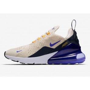 "Homme Nike Air Max 270 ""Mowabb"" Light Bone Pourpre Jaune Rabais"