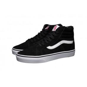 Vans Sk8 Hi Reissue Zip Soldes, Chaussures Noir Blanche