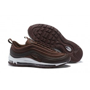 "Homme Nike Air Max 97 Ultra ""Metallic Mahogany"" Blanche Pas Cher"