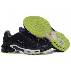 Nike Air Max TN Plus Homme Soldes, Chaussures Nike Plus Noir Verte