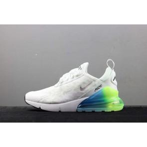 Homme Nike Air Max 270 Blanche Verte En ligne