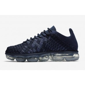 Nike Air VaporMax Inneva Casual Midnight Marine Argent Homme Soldes