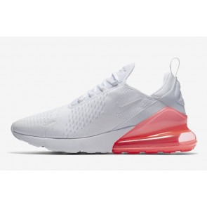 Nike Air Max 270 Homme Blanche Hot Punch Pas Cher