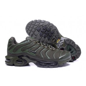 Nike Air Max TN Plus Chaussures Olive Verte Grise Pas Cher