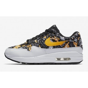 "Boutique Nike Air Max 1 ""Floral"" Blanche Or Femme"