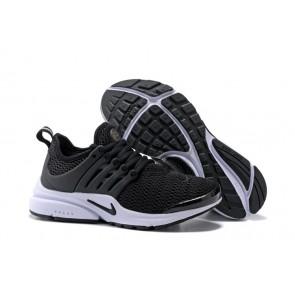 Chaussures Nike Air Presto Qs Noir Blanche Pas Cher