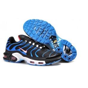 Chaussures Nike Air Max TN Plus Homme Noir Bleu Pas Cher