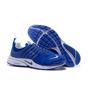 Homme Nike Air Presto Chaussures Bleu Blanche Soldes