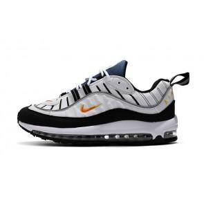 new arrival e8c96 93d88 Acheter Homme Nike Air Max 98 Blanche Orange