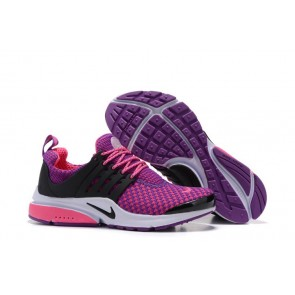 Chaussures Femme Nike Air Presto QS Pourpre Rose Pas Cher