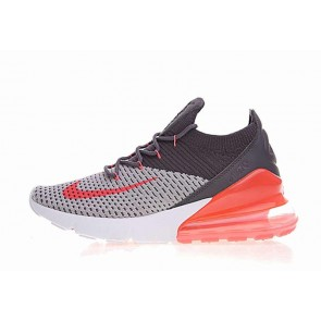 Boutique Nike Air Max 270 Flyknit Grise Orange