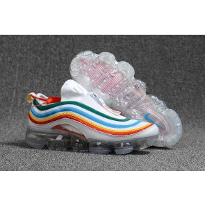 "Boutique Flair Vapormax x Nike Air Max 97 KPU TPU ""Undefeated"" Blanche Multi-Color"