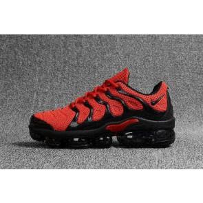 Nike Air VaporMax Plus KPU TPU Homme Rouge Noir Soldes