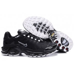 Nike Air Max TN Plus Pas Cher, Chaussures Homme, Noir Blanche