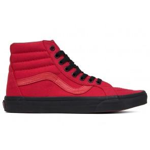 Boutique Chaussures Vans SK8 Hi Reissue Rouge Noir