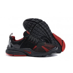 Chaussures Nike Air Presto Homme Pas Cher: Noir Rouge