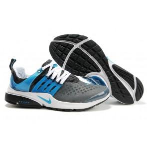Nike Air Presto Homme Pas Cher, Chaussures Grise Bleu