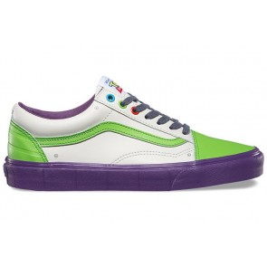 Chaussures Vans Toy Story Old Skool Blanche Soldes
