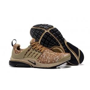 "Chaussures Homme Nike Air Presto GPX ""Khaki"" Noir Marron Pas Cher"