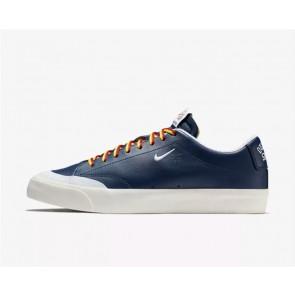 Quartersnacks x Nike SB Zoom Blazer Low XT QS Skate Homme Marine Blanche Rabais