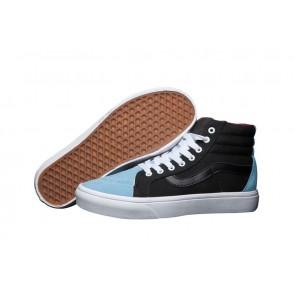 Chaussures Vans Sk8 Hi Reissue Pro Pas Cher | Noir Bleu