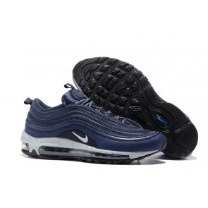 Homme Nike Air Max 97 Premium Noirend Bleu Grise Soldes