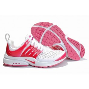 Nike Air Presto Femme Pas Cher, Chaussures Blanche Rose