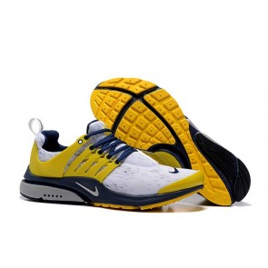 Homme Nike Air Presto Chaussures Jaune Bleu