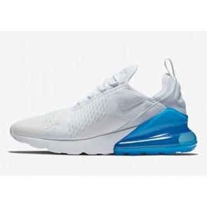 Boutique Homme Nike Air Max 270 Blanche Bleu