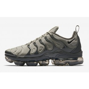 Homme Nike Air VaporMax Plus Dark Stucco Blanche Grise Soldes