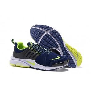 Nike Air Presto Chaussures Bleu Verte Soldes