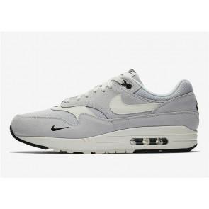 Homme Nike Air Max 1 Pure Platinum Noir Pas Cher