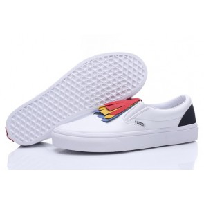 Vans Slip On Pas Cher - Chaussures Blanche