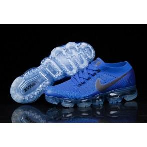Homme Nike Air VaporMax Bleu Noir Soldes